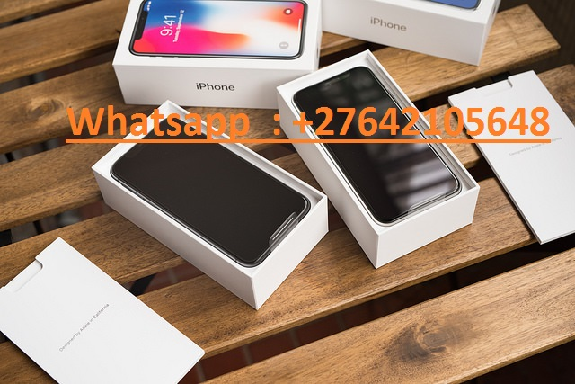 Apple iPhone X 64GB per 400 EUR e Apple iPhone X  256GB per 450 EUR, WhatsApp Chat:  +447451221931