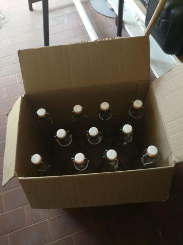 Bottiglie  1 lt. In vetro
