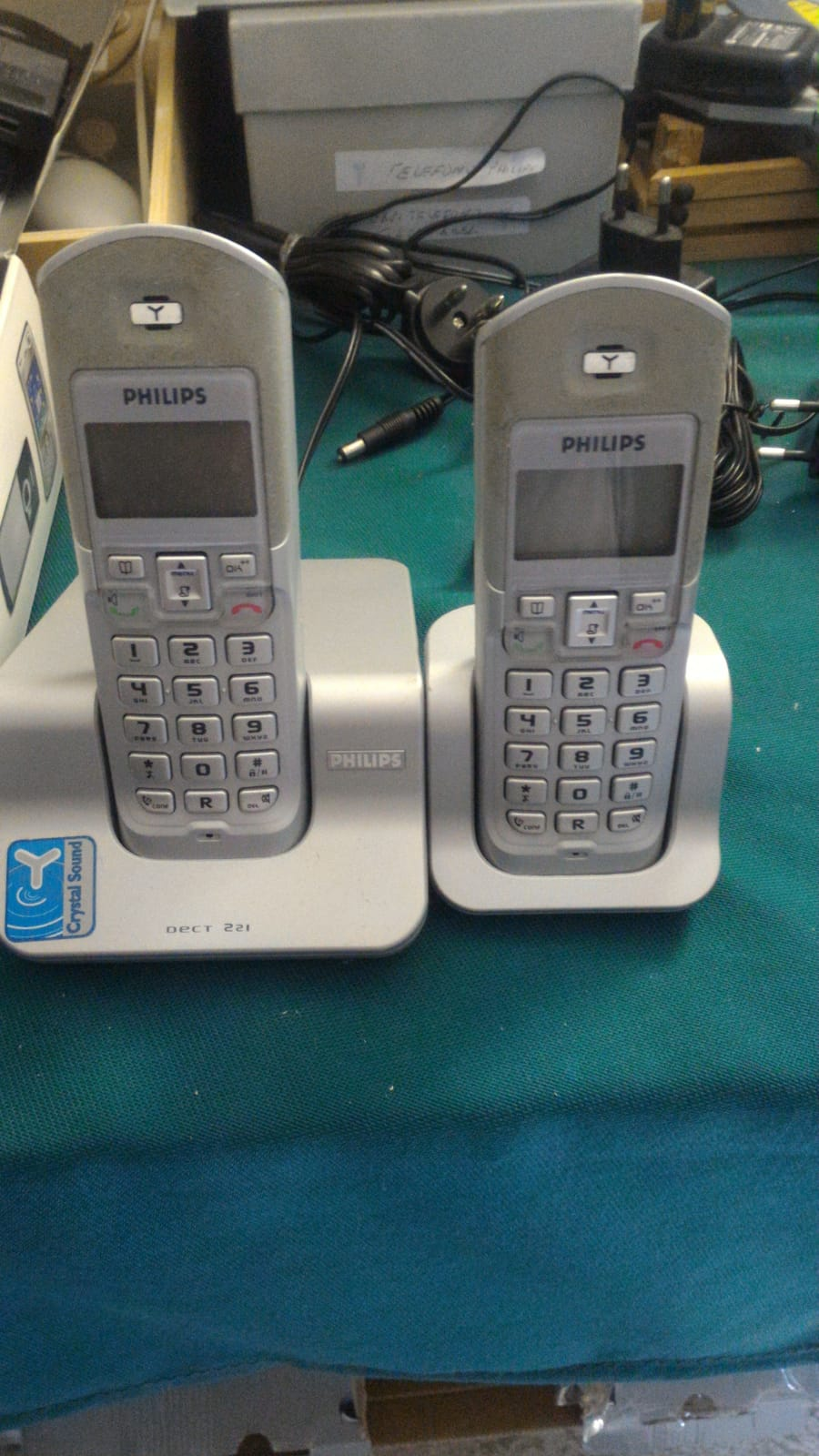 Cordless  Philips duo