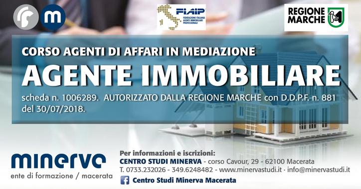 Corso per Agente Immobiliare a Macerata
