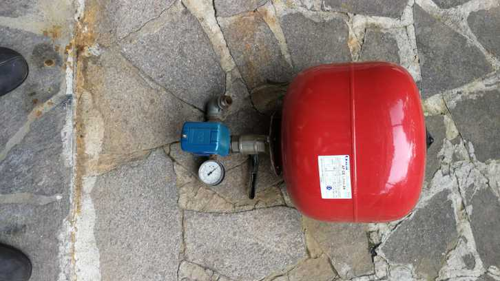 Kit autoclave serbatoio idrosfera