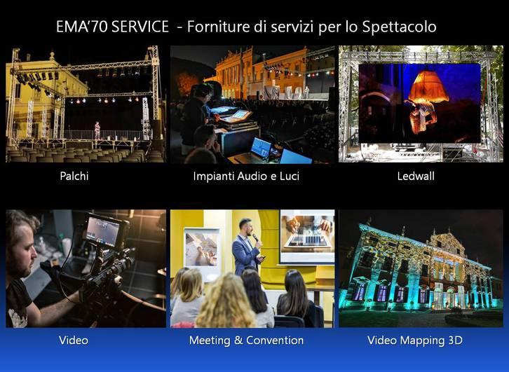 NOLEGGIO SERVICE AUDIO E LUCI Altro 2