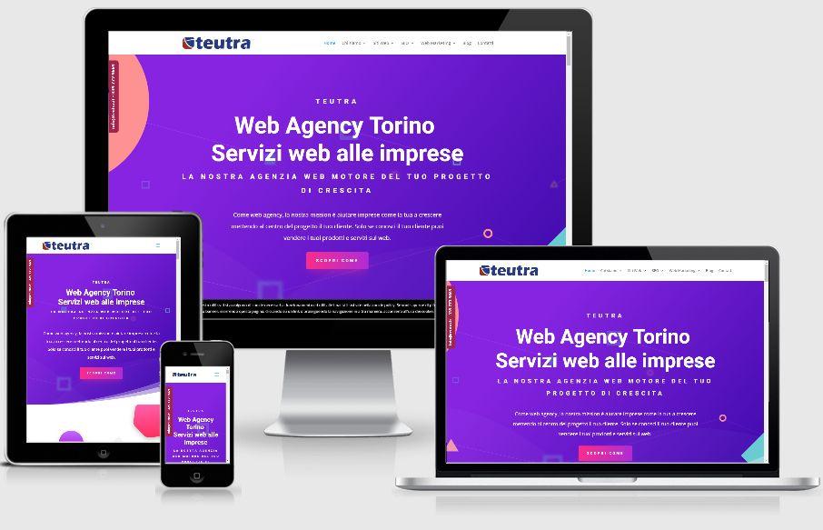 Teutra web agency a Torino