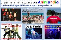 animatori vari ruoli anche senza esperienza