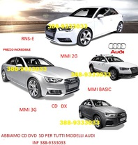 Audi RNS-E Navigation Plus  DVD 1-DVD2-DVD3