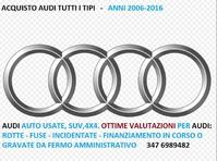 Audi auto e 4x4 usate acquisto contanti