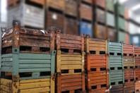 Contenitori cassoni usati in lamiera acciaio serie pesante