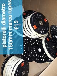 Dischi abrasivi in velcro diametro 150mm