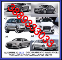MAPPE AUDI 2018 MMI 3G HIGH HDD SYSTEM -ANTEPRIMA - NEW NEW NEW NEW-