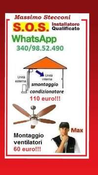 Montaggio lampadario Monteverde Portuense a Roma