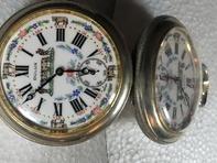 Orologio da taschino DULUX quadrante in ceramica
