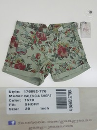 STOCK SHORT DONNA MADE ITALY